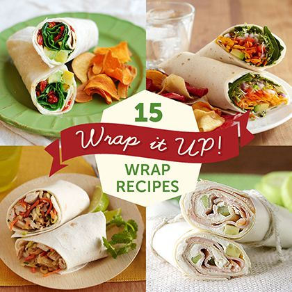 15 Wrap Recipes for Every Meal | Spoonful