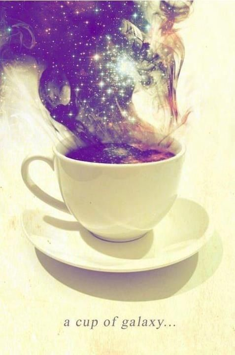 A cup of galaxy | Anonymous ART of Revolution