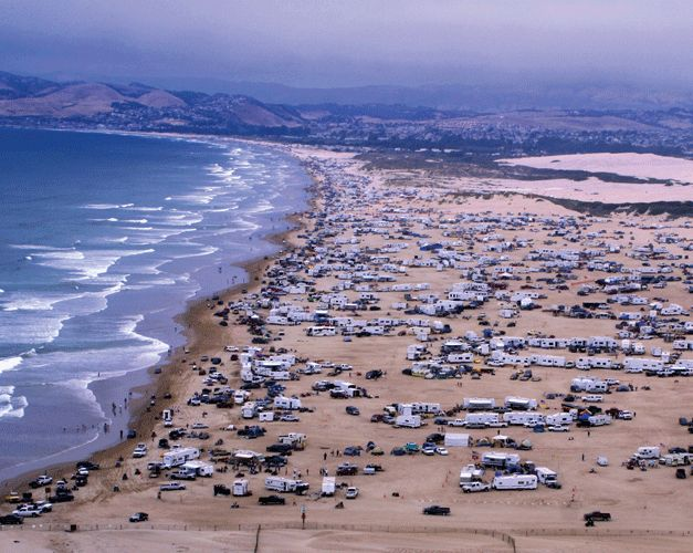Pismo Beach One Of The Very Few Beaches In California