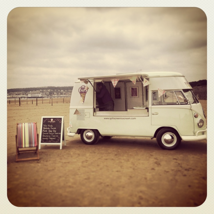 #photoshoot Vintage VW Ice Cream Van For Weddings
