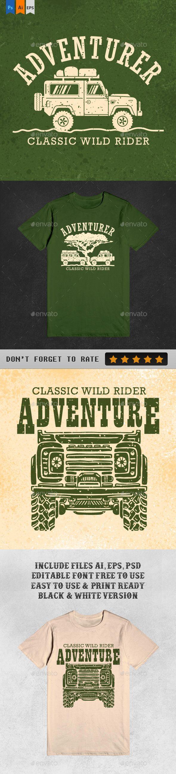 T-shirt design kit free download full - 3 Ultimate Adventure Tshirt