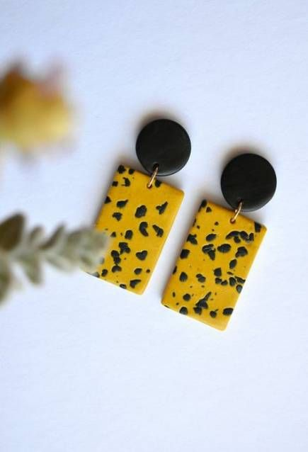 Jewerly earrings handmade polymer clay 41 ideas for 2019