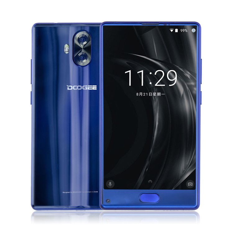 "DOOGEE MIX Lite 5.2""HD LTE Android 7.0 Smartphone Dual Lens 13MP 16GB 3080mAh"