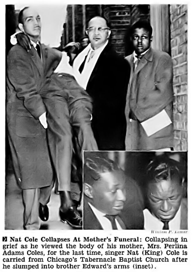 Nat King Coles Son | Nat king cole funeral