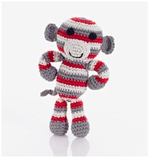 Pebble Hathay Bunano - Monkey Red.