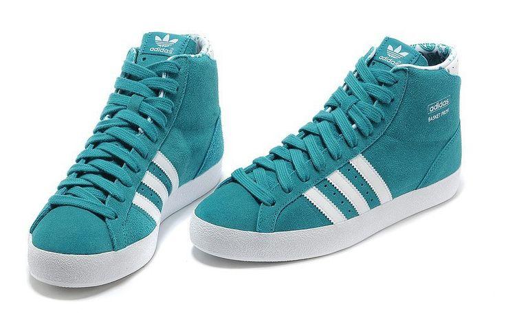 on sale 6d020 75130 ... Adidas Basket Profi mujer High Tops Zapatos Royal Blanco Trainers  G95472 en stock   Adidas NEO ...