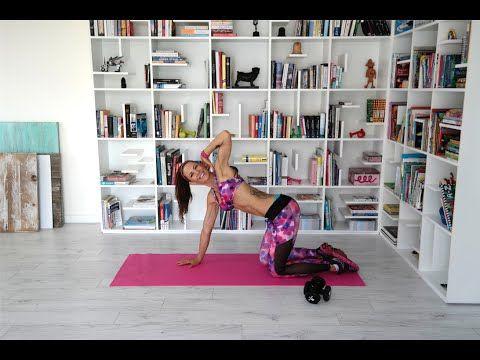 14 Dakikada Dümdüz bir Karın! | Squat Girl - YouTube