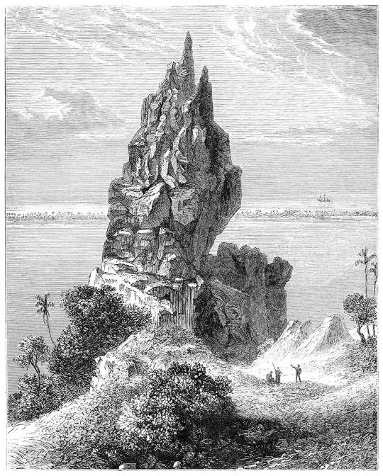 bora bora vremond de b rard from la terre vol d 39 oiseau by on sime reclus paris 1886. Black Bedroom Furniture Sets. Home Design Ideas