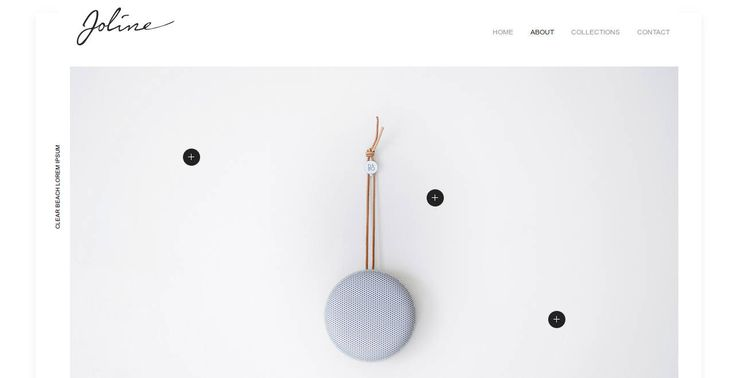 Website for Etsy Startups,  minimal Custom Web design Template, HTML by LittleBigDesign on Etsy