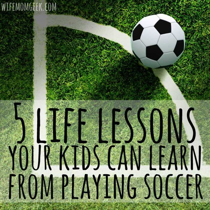 Playing sports and working as a team is important to a child's character development. Here are 5 lessons your kids can learn from playing soccer, along with a great deal on British Soccer Camps through Challenger Sports. #sponsored