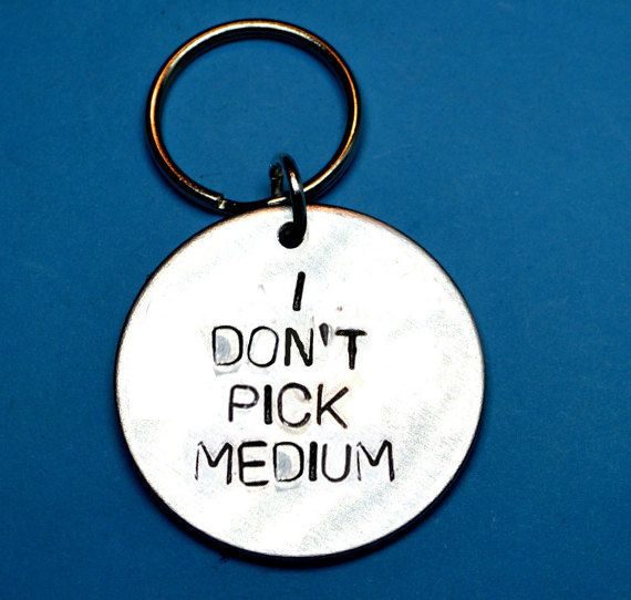 I dont pick mediumbest friend gift by BeesHandStampedGifts on Etsy