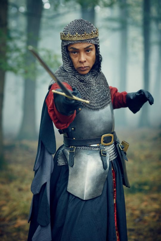 Sophie Okonedo as Margaret of Anjou in The Hollow Crown