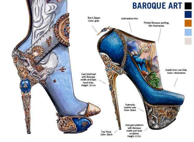 Be taught Artwork Historical past By 10 Gorgeous Pairs Of Excessive Trend Heels