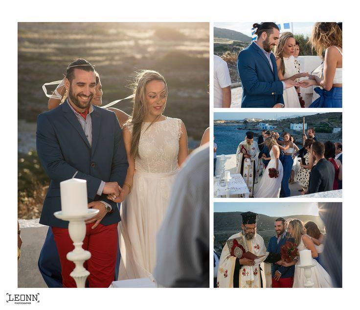 Greek ceremony wedding details by Leonn