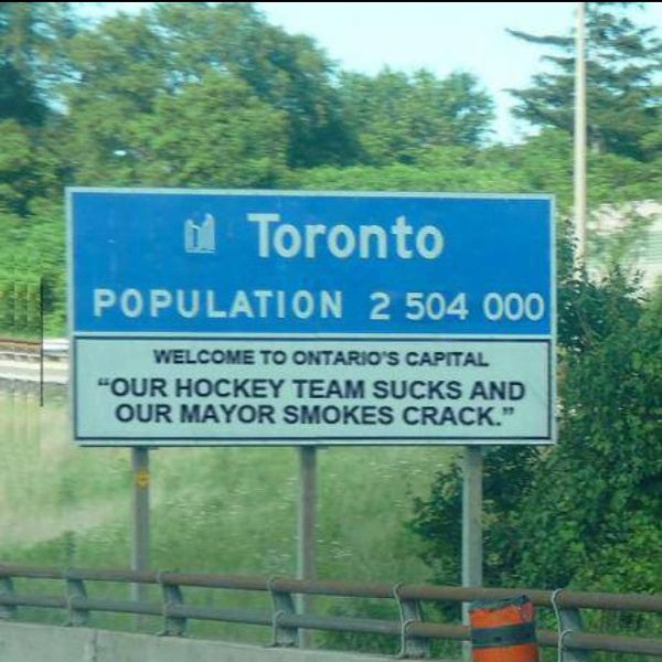 Welcome to Toronto