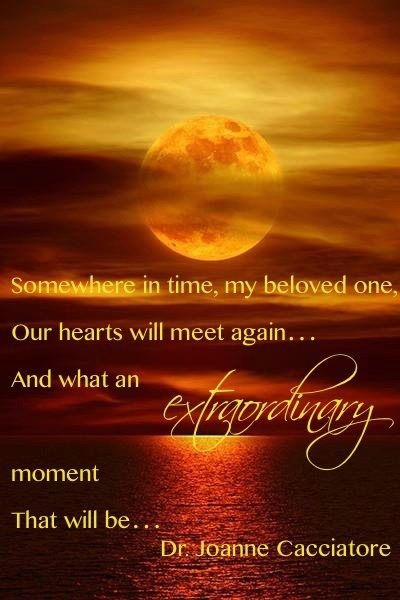 ~ our hearts will meet again ~ by Dr. Joanne Cacciatore, MISS Foundation