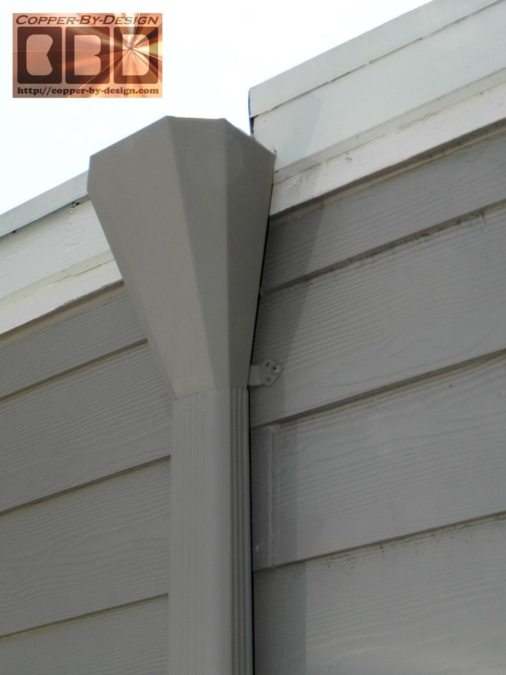 42 Best Gutters Scuppers Amp Downspouts Images On Pinterest