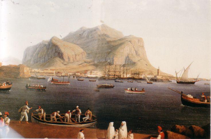 Montepellegrino visto dal porto