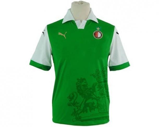 Nieuwe uit shirt Feyenoord