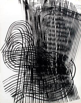 Hans Hartung: Miro soir et matin, 1973