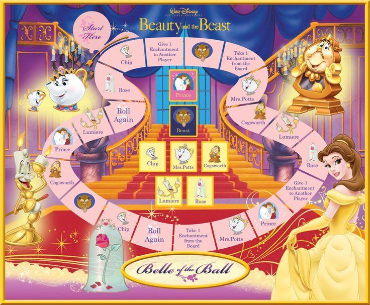 Alice In Wonderland Games: Disney Printable Board Games