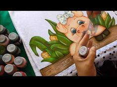 Dicas de como pintar cerca de madeira com stencil, com Artes da Ju Baby   Cantinho do Video