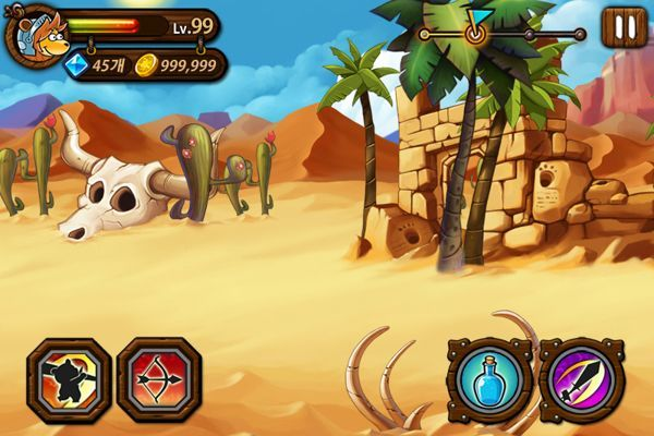 game ui & background concept by prussian choi, via Behance