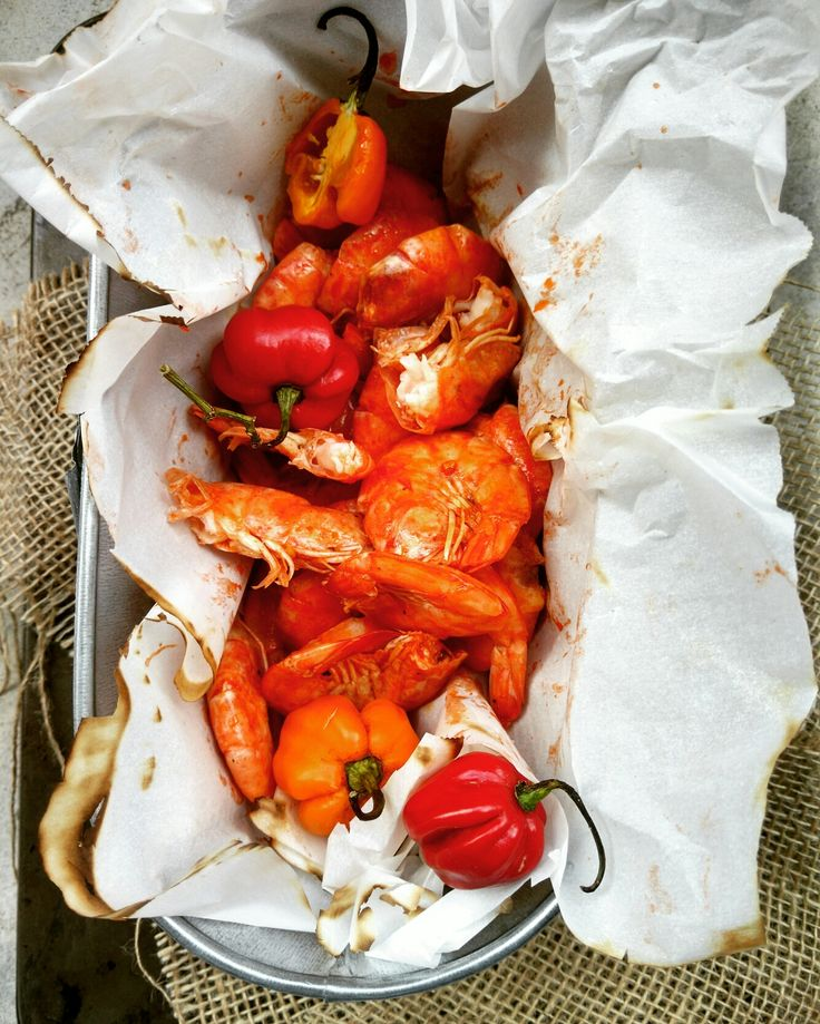 Jamaican Pepper Shrimp: Wonderful, spicy Jamaican inspired street eats.
