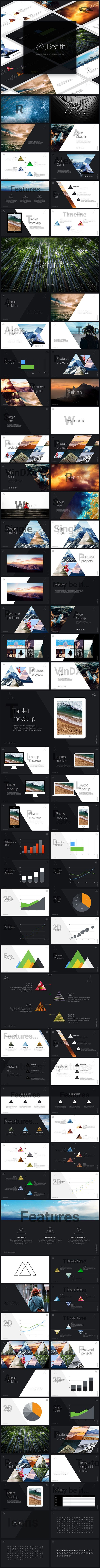 Rebirth Keynote Presentation Template. Download here…