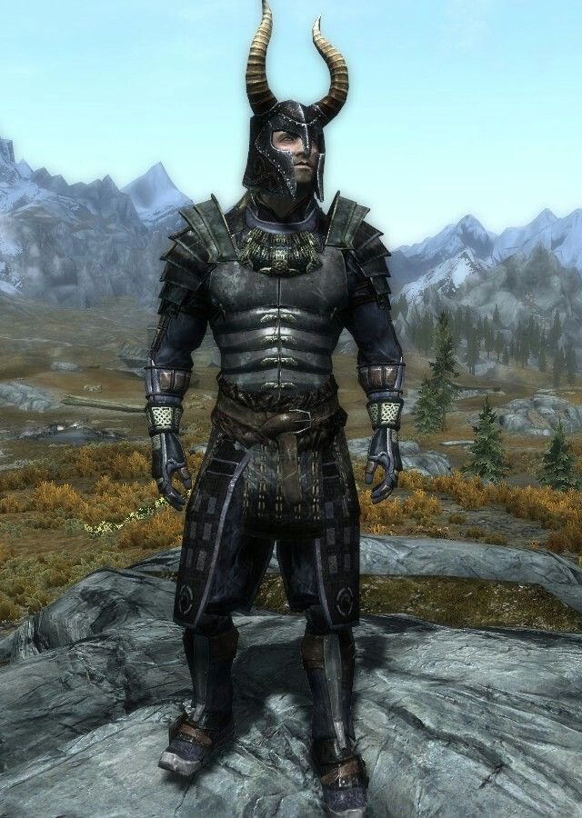 """""""Samurai Warlord"""" by Drakon  Blades Armor, Boots and Gauntlets  Helm of Yngol"""