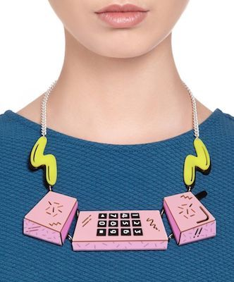 Eighties phone necklace by Tatty Devine - keep changing my mind about this one....