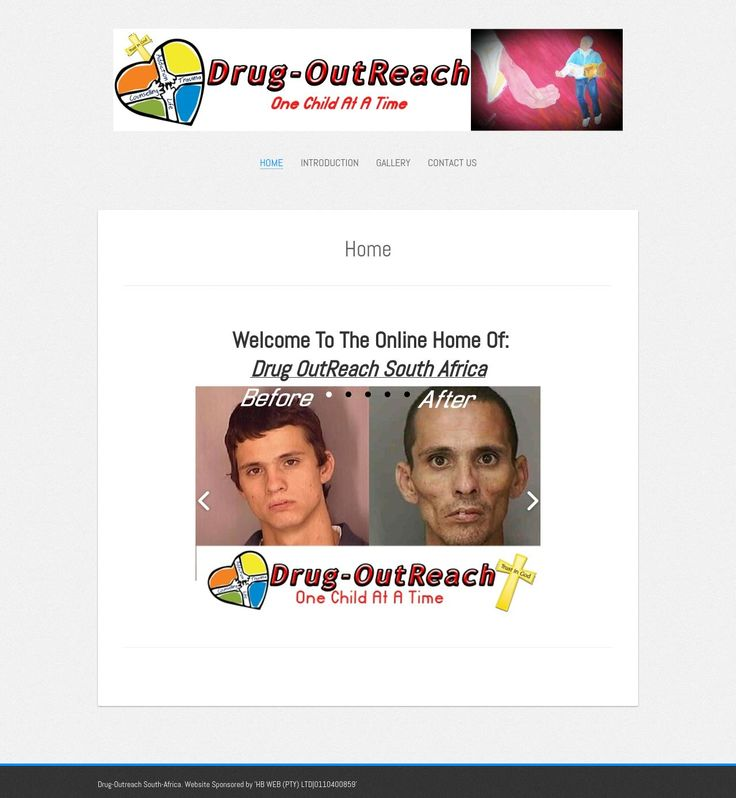 Drug Outreach - Website Sponsored, Designed & Maintained by HB WEB