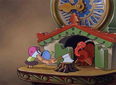 reloj animado pinocho
