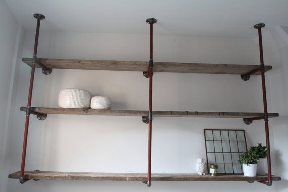 Bespoke Reclaimed Scaffolding Boards And Steel By