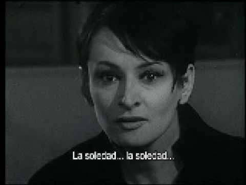 Barbara y su tema de 1965: La Soledad. Una obra maestra de esta particular cantante.