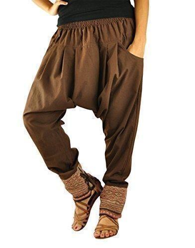 Oferta: 33.33€. Comprar Ofertas de Talla única ropa hippie para hombres y mujeres, pantalones bombachos hombre y mujer en algodón con tejidos tradicionales y có barato. ¡Mira las ofertas!