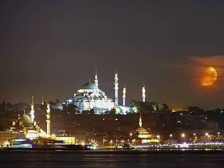 Süleymaniye Cami. Yeni Cami