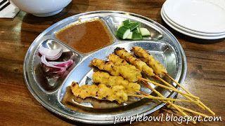 Purple bowl: Roti Road restaurant review