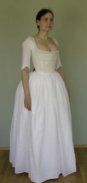 18th century linen chemise - Google Search