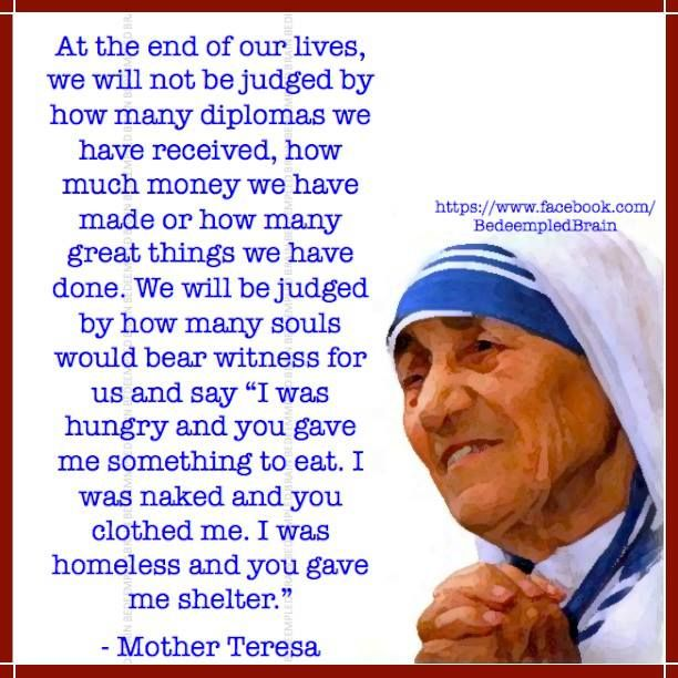 Quote From Mother Teresa: 1000+ Images About Quotes By Mother Teresa & Others On