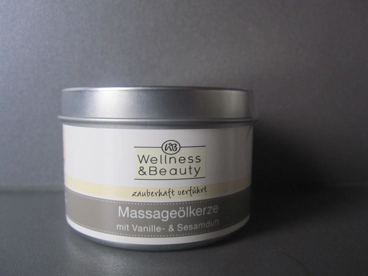 #sfmbox Januar:  Wellness & Beauty Massageölkerze mit Vanille- & Sesamduft