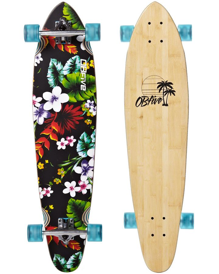 OBfive - I have this deck with carver trucks put on it... bliss!!! Shame I'm always having to fight my 6yr old for a turn of my own board!!!