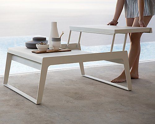 Chill-Out Coffee Table by Cane-line at Lumens.com - The Best Outdoor Coffee Table ever! $1,585.00 but worth the splurge.