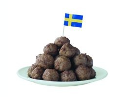 Smorgasbord - Swedish Food, Recipes and Tradition...MEATBALLS, sans the lingonberry, sauce andpotatoes.