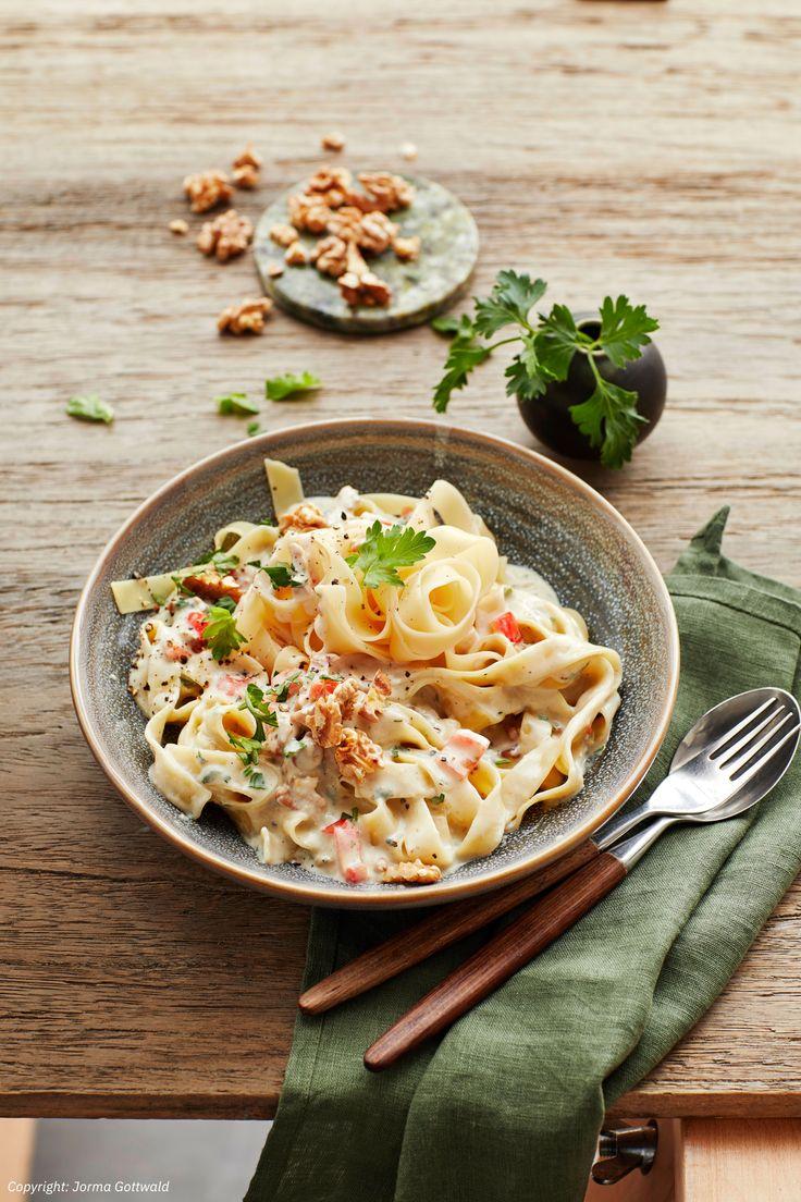 Gorgonzola-Nuss-Pasta