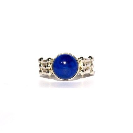 Lapis Lazuli Sterling Silver Ring by Kate McCoy  www.katemccoy.com