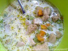 Tárkonyos csirkeragu leves | Receptek A-Z
