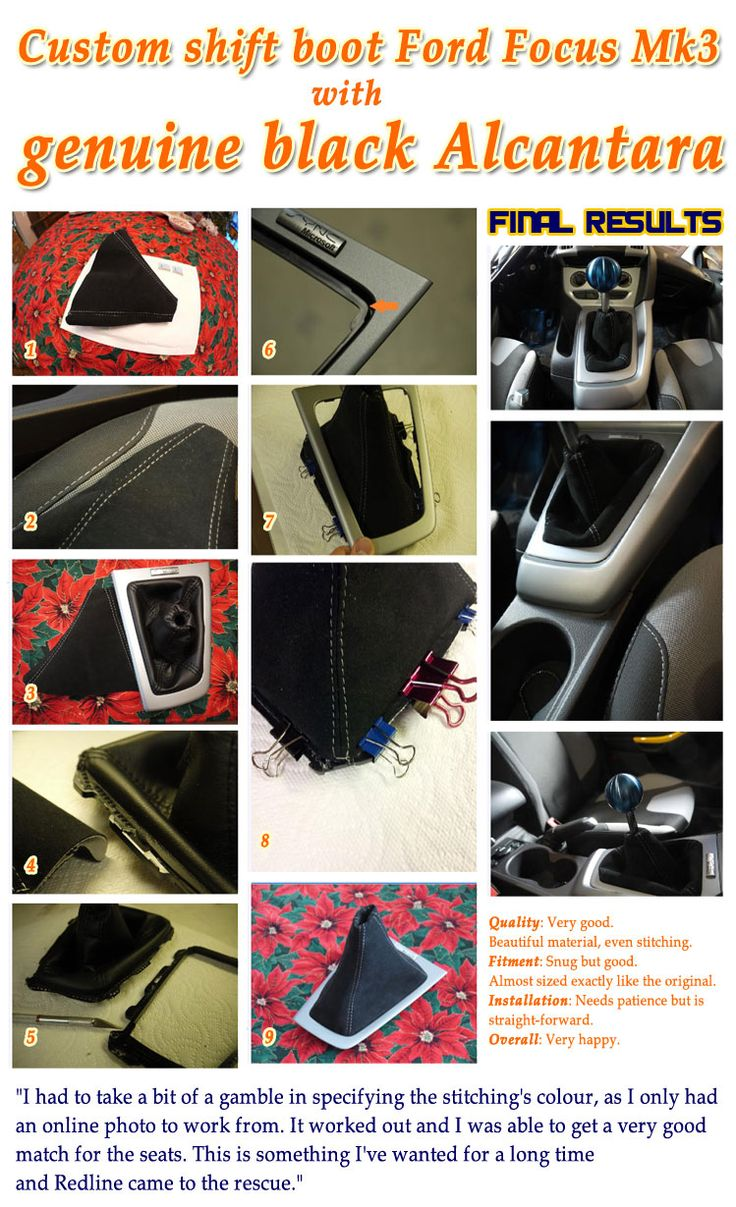 Has your shift boot seen better days? Your park brake boot been through the wringer? Perhaps you simply want to upgrade your stock vinyl pieces to finer leather? Or maybe you're looking for the finishing touch to your custom interior? Regardless of reasons, we has a solution for you.