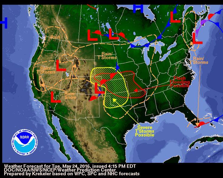 National Weather Map : Weather forecast map storm pixshark images
