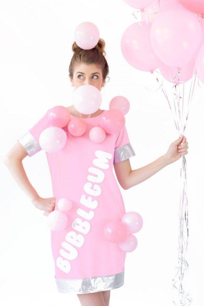DIY Kostüm: Kaugummi
